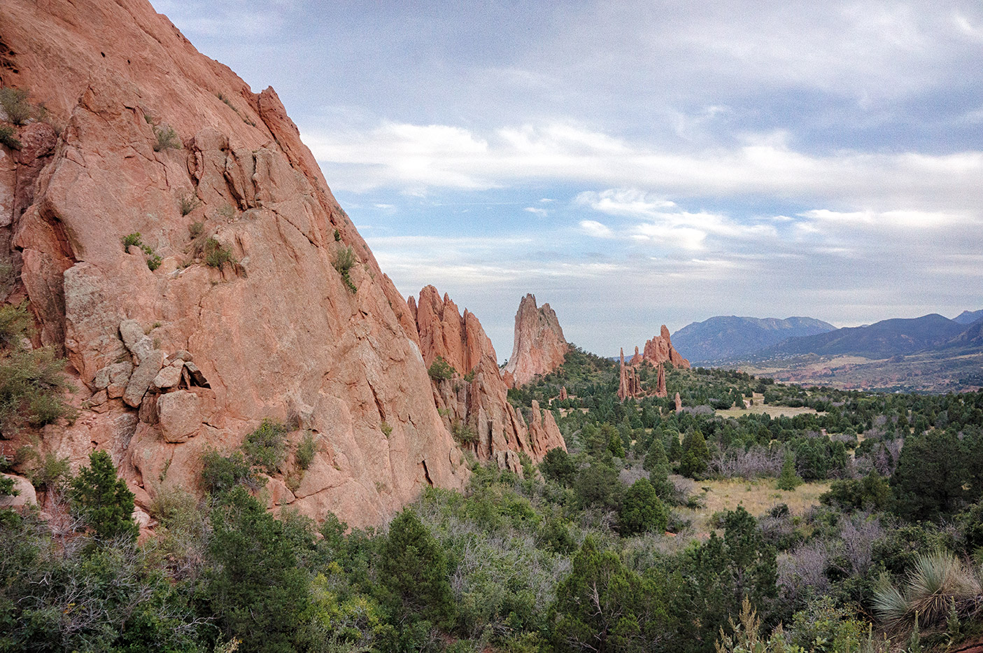 Cathedral Valley at Garden of the Gods
