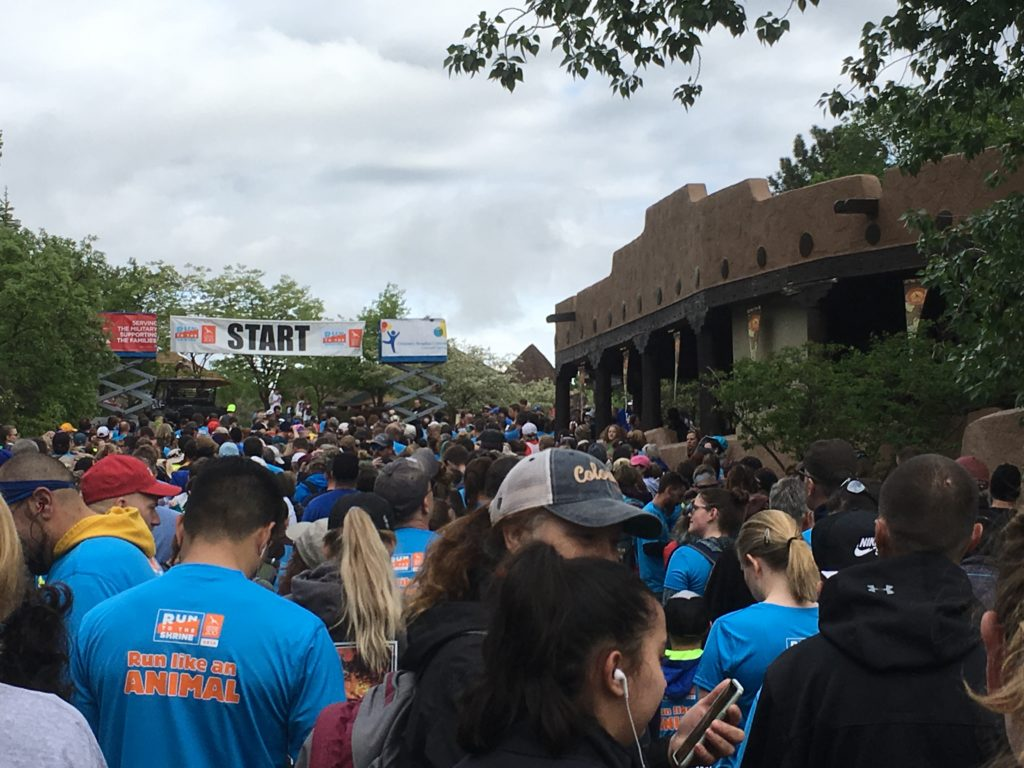 Cheyenne Mountain Zoo Run to the Shrine Start