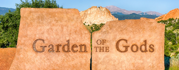 Garden of the Gods Entrance