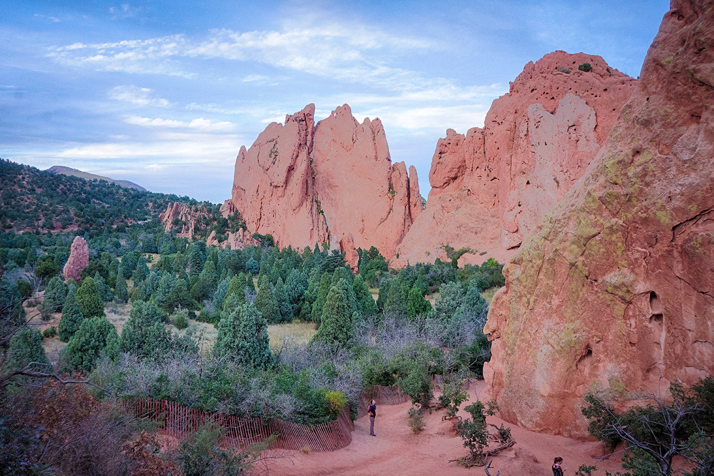 Near Cathedral Spires at Garden of the Gods