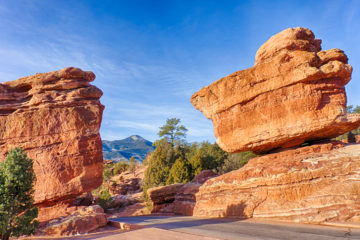 Balanced Rock Garden of the Gods Colorado Springs
