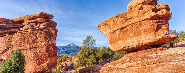Balanced Rock Garden of the Gods Colorado Springs