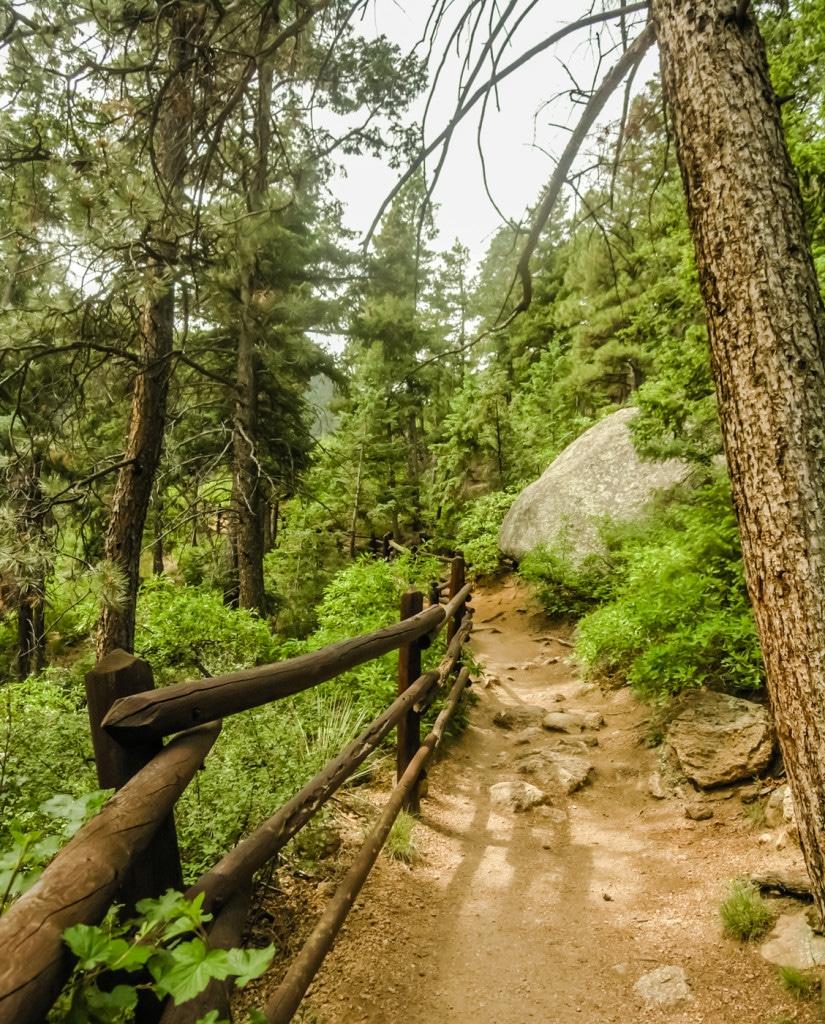 Barr Trail Pikes Peak