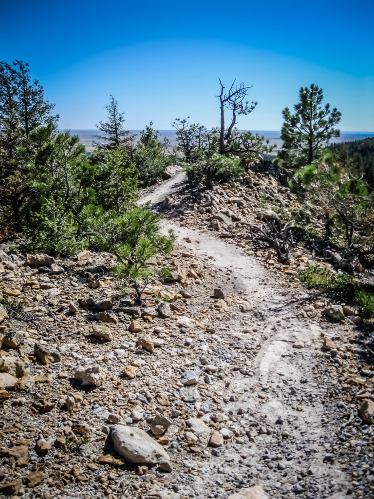 Cheyenne Mountain State Park Trail