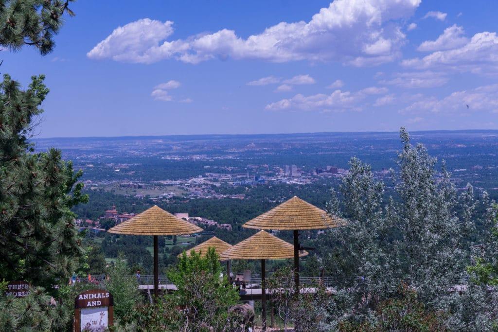 cheyenne mountain zoo view