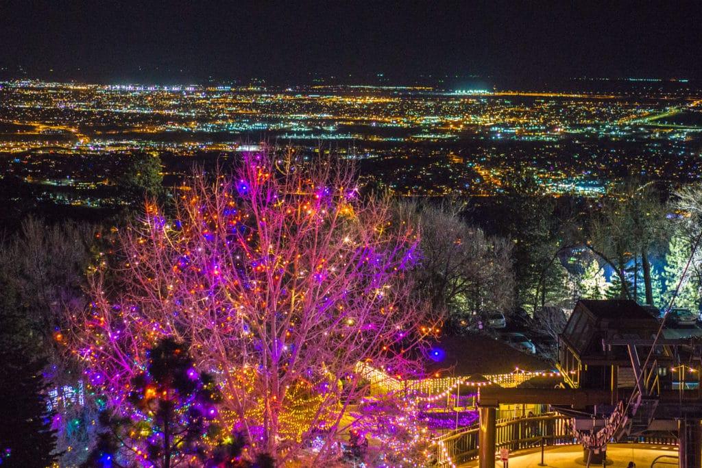 Electric Safari Cheyenne Mountain Zoo - View of Colorado Springs