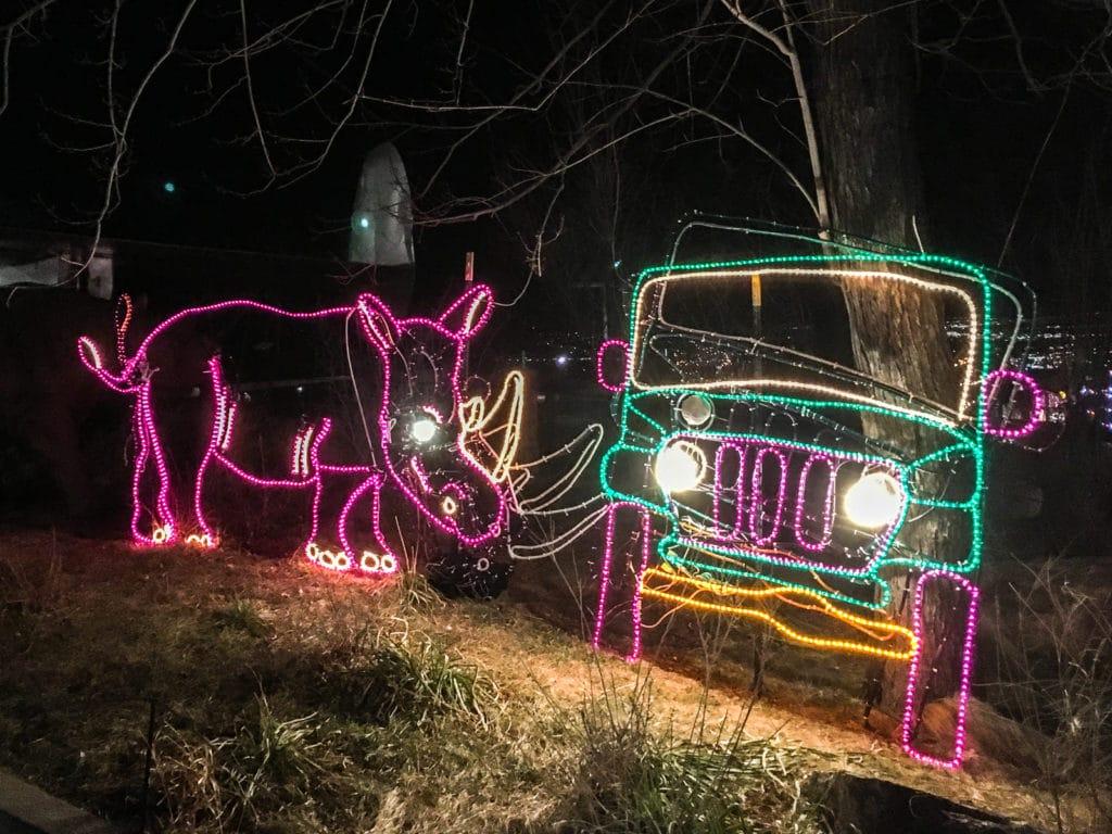 Cheyenne Mountain Zoo Electric Safari Rhino