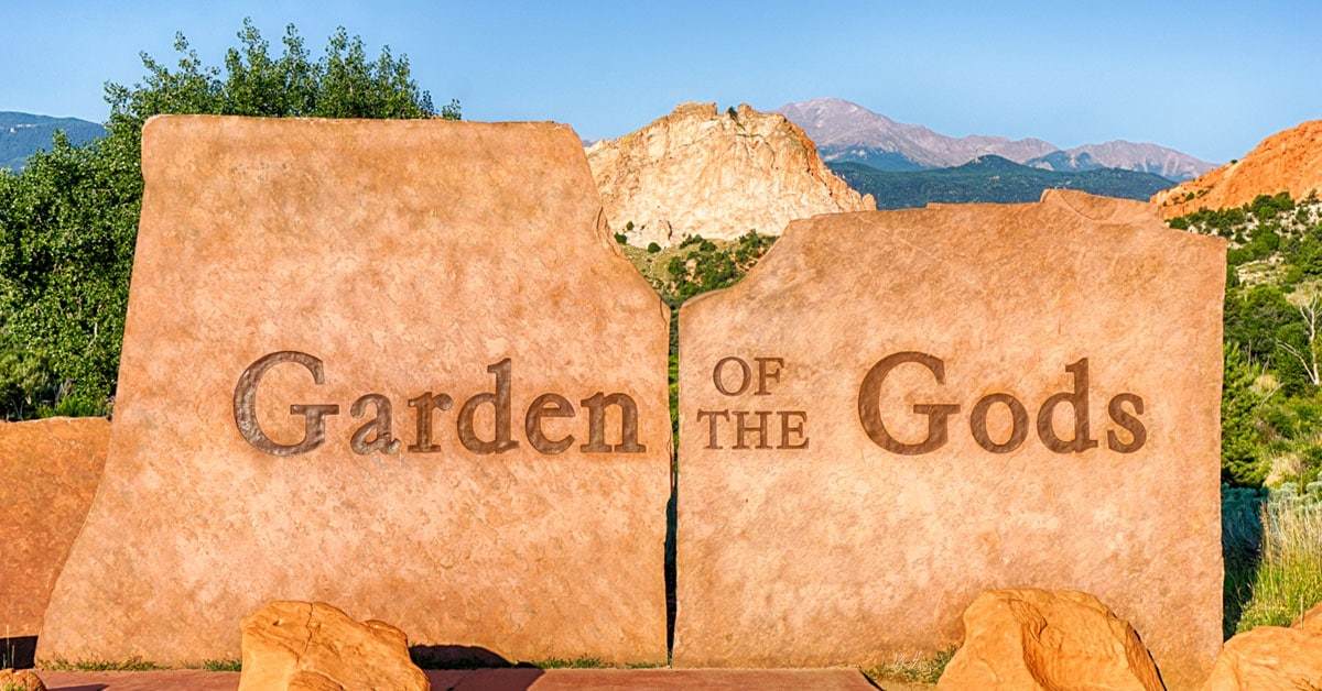 Garden Of The Gods Directions