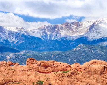 Garden of the Gods Elevation Colorado Springs
