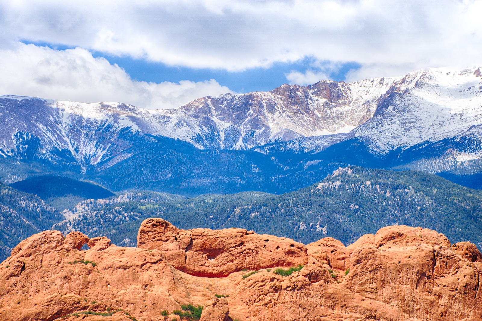 Garden Of The Gods Elevation Colorado Springs Colorado