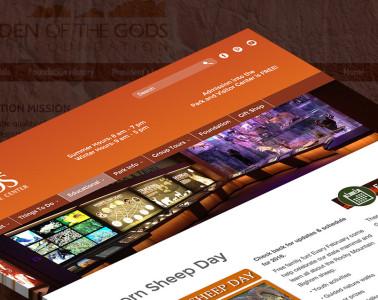 Garden of the Gods Websites