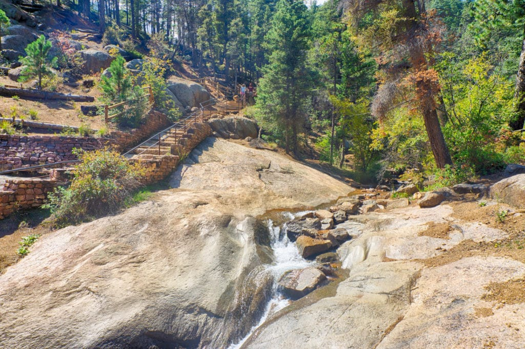 Hiking to Silver Cascade Falls