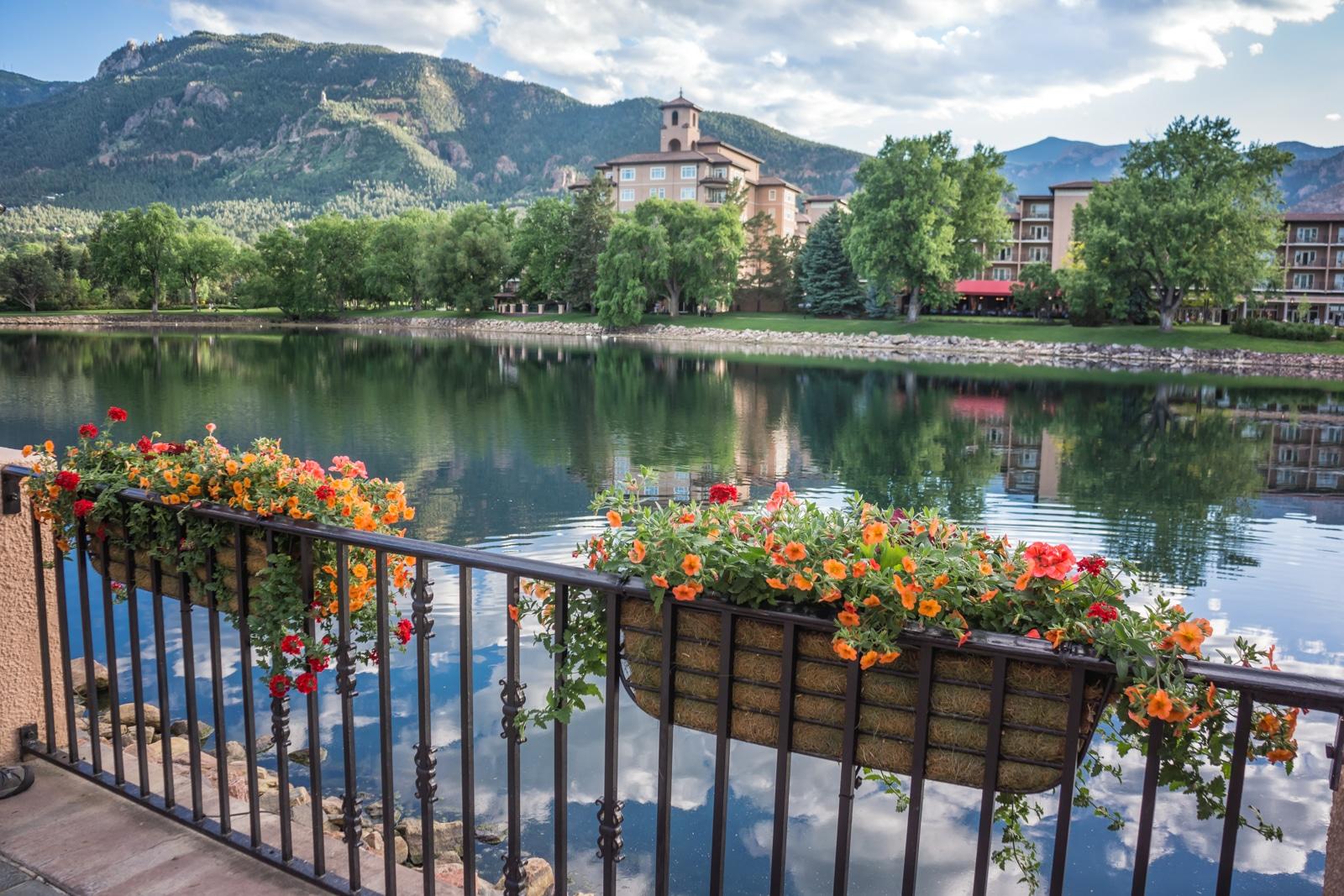 Wonderful Hotels Near Garden Of The Gods Broadmoor Grounds Nice Design