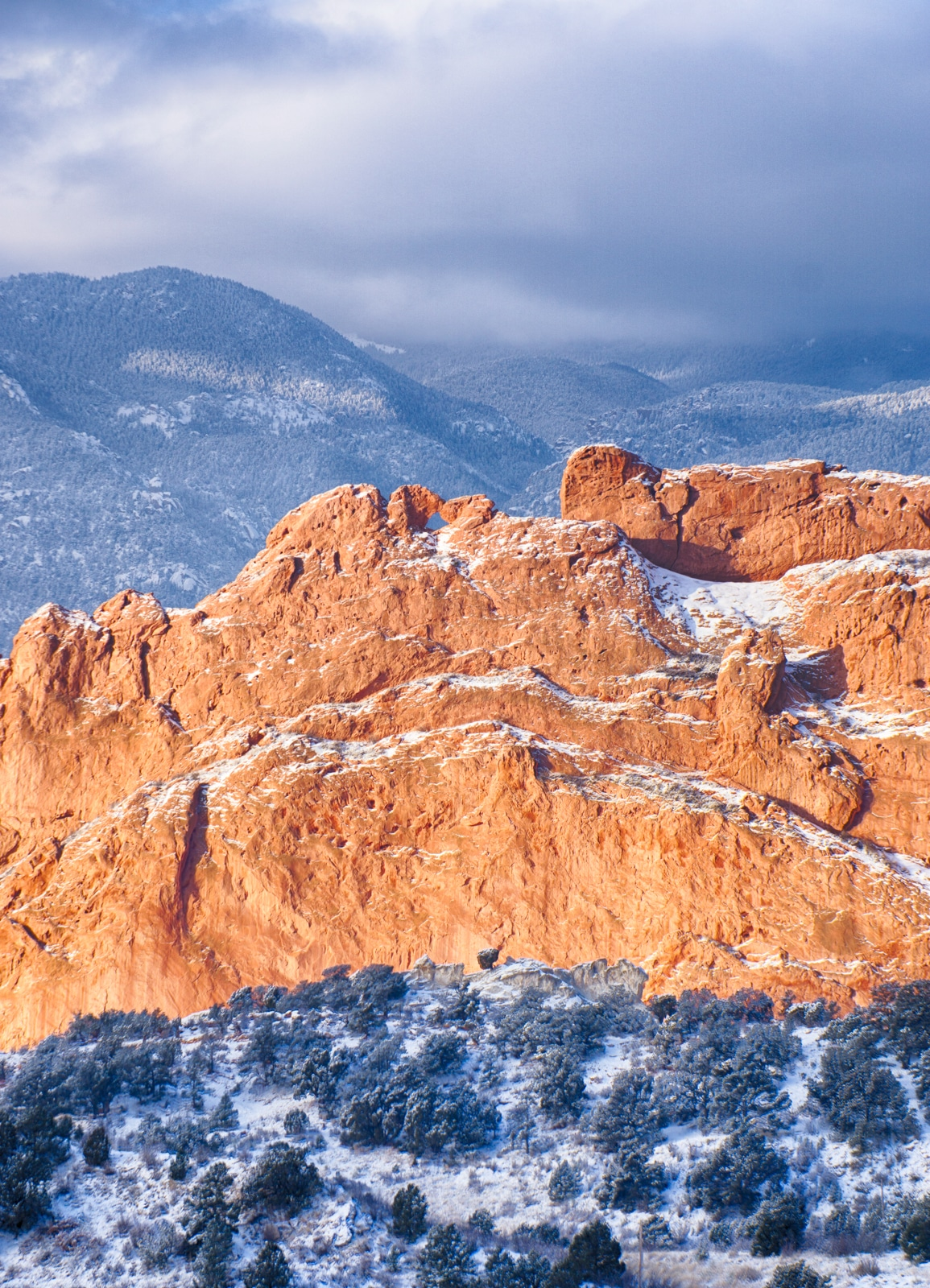 Garden of the Gods Elevation , Colorado Springs, Colorado