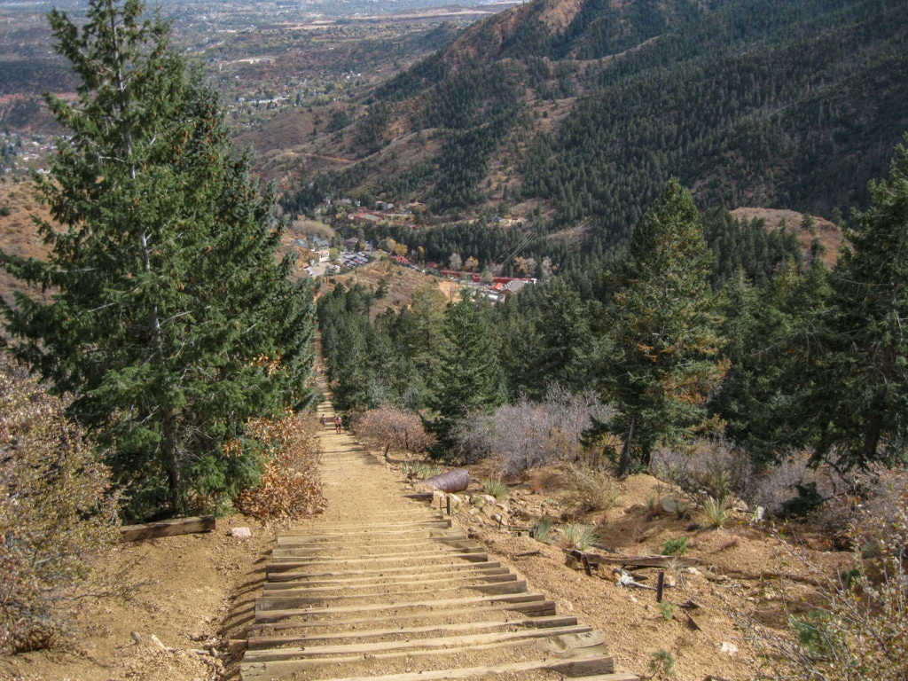 Manitou Incline Colorado Springs Hiking Trail