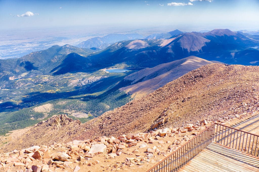 Pikes Peak Summit View