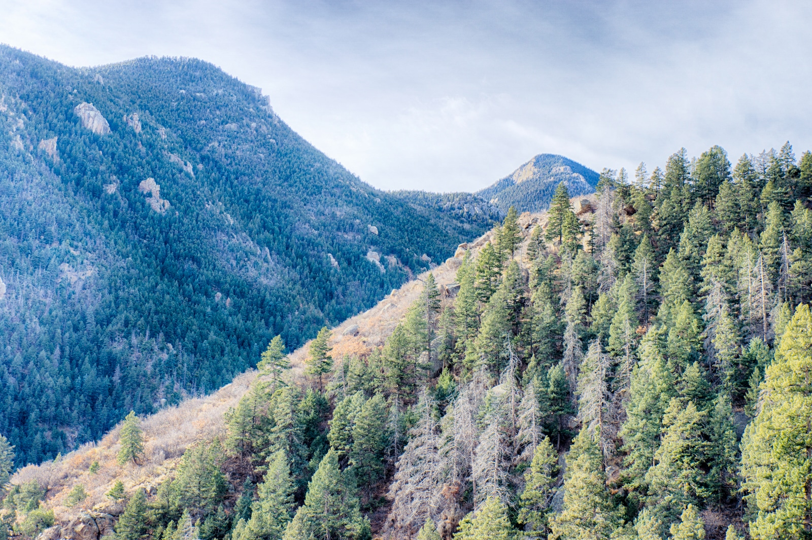 Looking At The Incline From Iron Mountain Inteman Trail