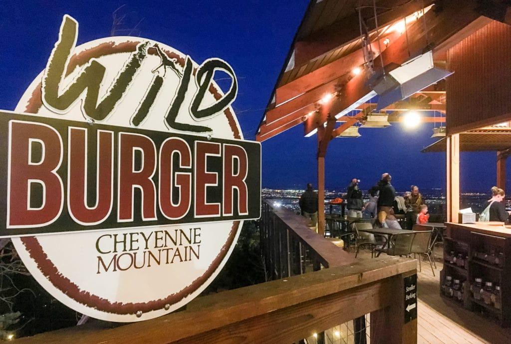 Wild Burger Cheyenne Mountain Zoo